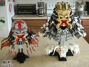Lego Predator Busts WIN