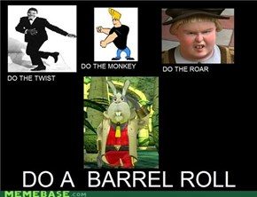 Something, Something, Barrel Roll