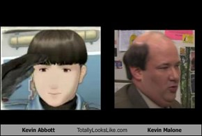 Kevin Abbott Totally Looks Like Kevin Malone