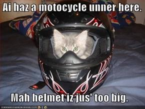 Ai haz a motocycle