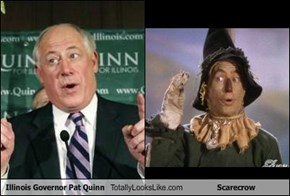 Illinois Governor Pat Quinn Totally Looks Like Scarecrow