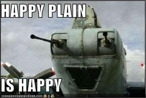 HAPPY PLAIN  IS HAPPY