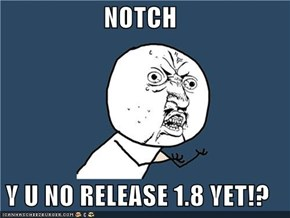 NOTCH  Y U NO RELEASE 1.8 YET!?