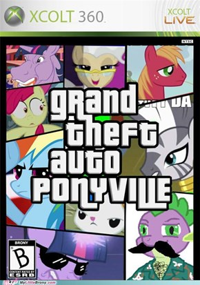 Grand Theft Carriage: Ponyville