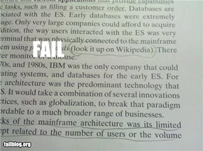 College Textbook Citation FAIL