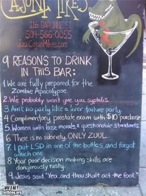 Bar WIN