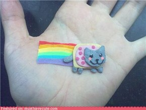Play-Doh Nyan Cat