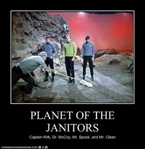 PLANET OF THE JANITORS