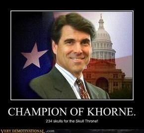 CHAMPION OF KHORNE.