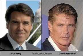 Rick Perry Totally Looks Like David Hasselhoff