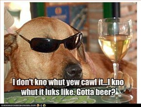 I don't kno whut yew cawl it...I kno whut it luks like. Gotta beer?