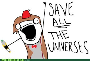Doctor saves ALL the planets!
