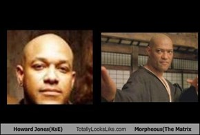 Howard Jones(KsE) Totally Looks Like Morpheous(The Matrix