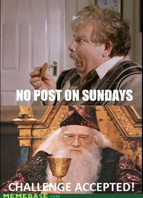 No Reposts on Sunday!