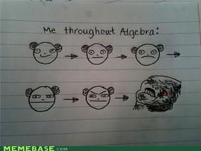 Me in Algebra