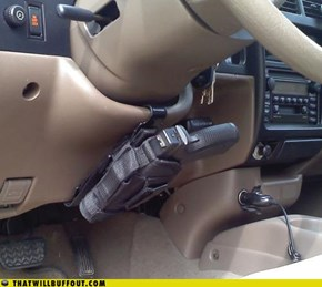 Old-School Car Security System