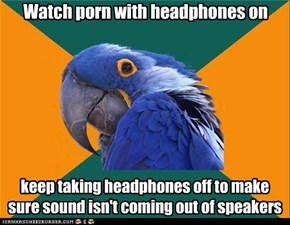 Paranoid Parrot: No Faith in Technology