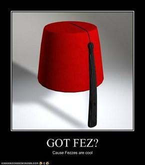 GOT FEZ?