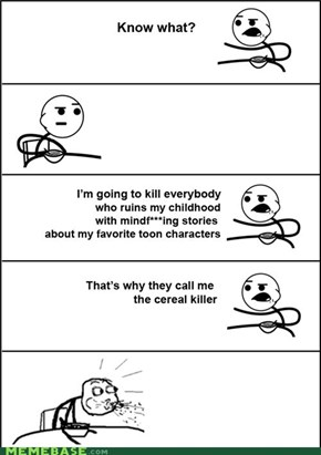 Mindeffing Cereal Guy