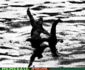 Bigfoot on Nessy?