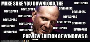 Baneful Ballmer wants YOU!