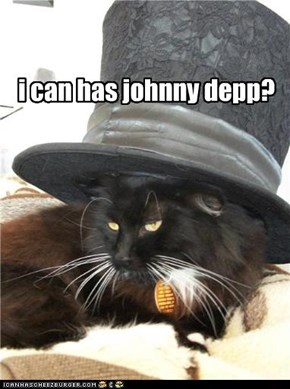 i can has johnny depp?