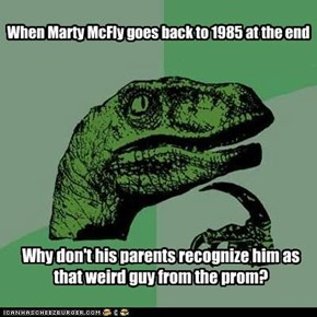Philosoraptor: And Why Don't the Authorities Investigate the Missing High School Student?