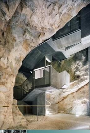 The Batcave Gets Modern