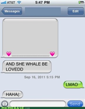 I swear, puns just whale on us.