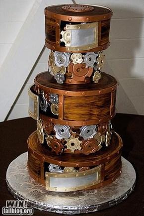 Cogs Cake WIN
