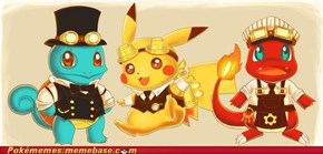 Steampunk Pokémon