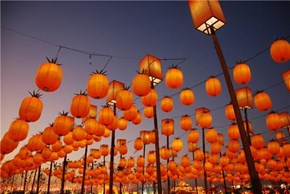 Lantern Festival Shanhwa Town, Taiwan