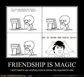 FRIENDSHIP IS MAGIC