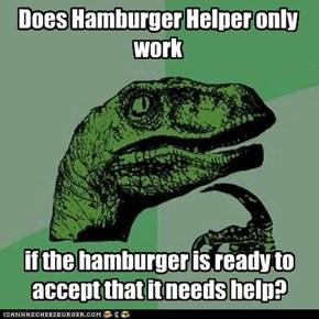 Does Hamburger Helper only work