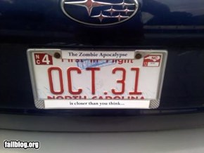 Zombie Apocalypse Is Here