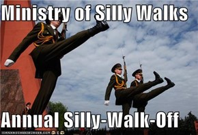 Ministry of Silly Walks  Annual Silly-Walk-Off