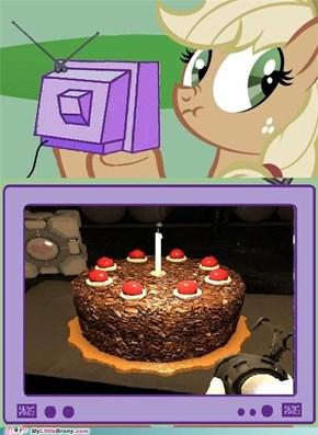 Lying Applejack: That's a Yummy Pie