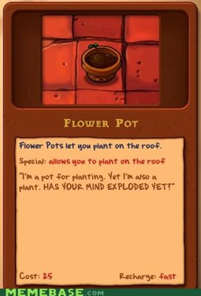 Pot Plant Blows Your Mind