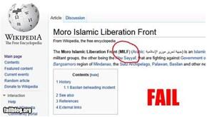 Liberation Front FAIL