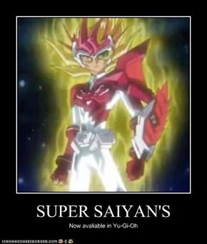 SUPER SAIYAN'S