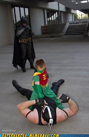 Get Him, Robin!