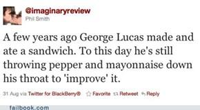 George Lucas's Sandwich