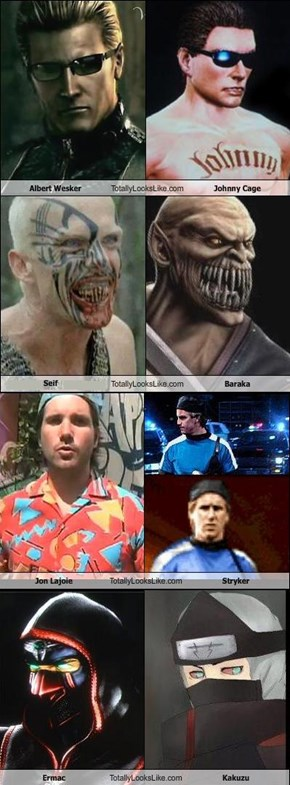 Mortal Kombat's Twin's