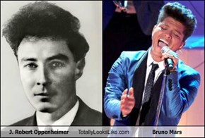 J. Robert Oppenheimer Totally Looks Like Bruno Mars