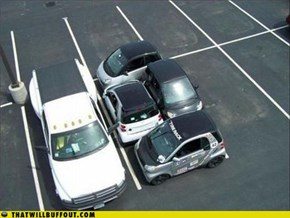 Douchebag Parkers: Now That's Smart