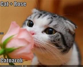 Cat + Rose = Catnarok