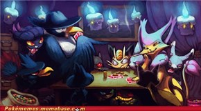 Honchkrow's Poker Night