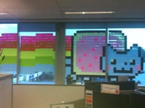 Post-It Mural of the Day