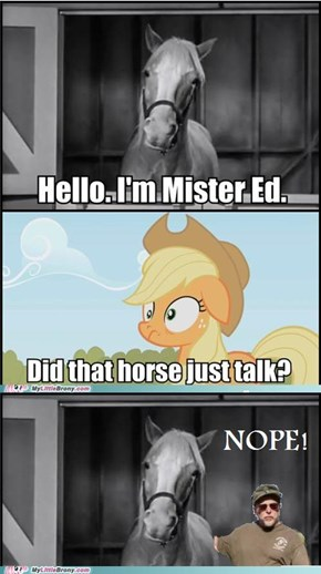 Poor Mr. Ed