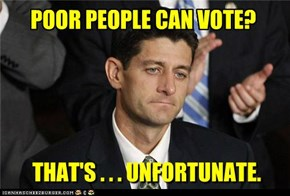 Paul Ryan's war on poverty.